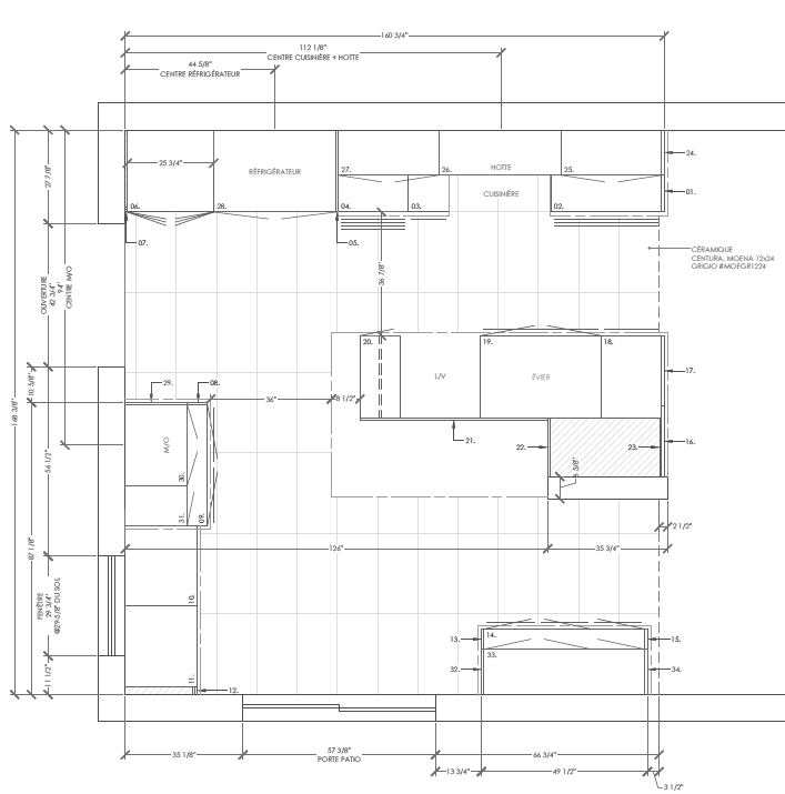 plans autocad 18-043-00 BASS (cuisine) plan de pose_site